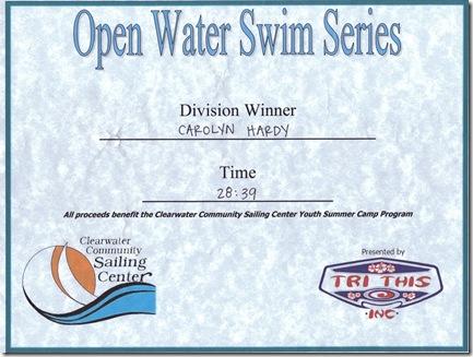 Swim Certificate