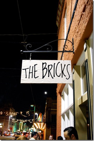 the bricks