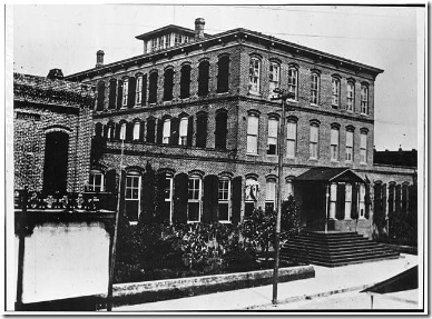 Ybor's First Cigary Factory c.1900