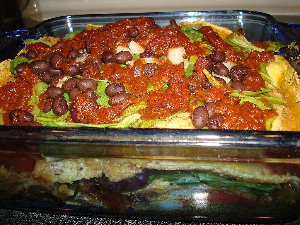 Mexican Corn Tortilla Casserole   Eat Well. Live Well. Be Well.