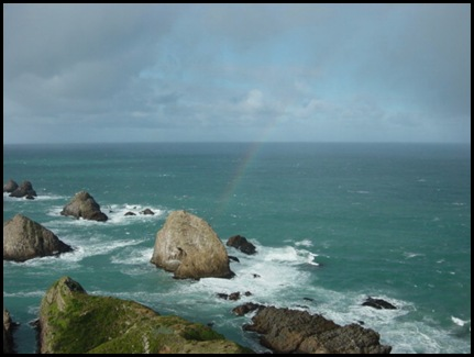 Nugget Point Rainbow3