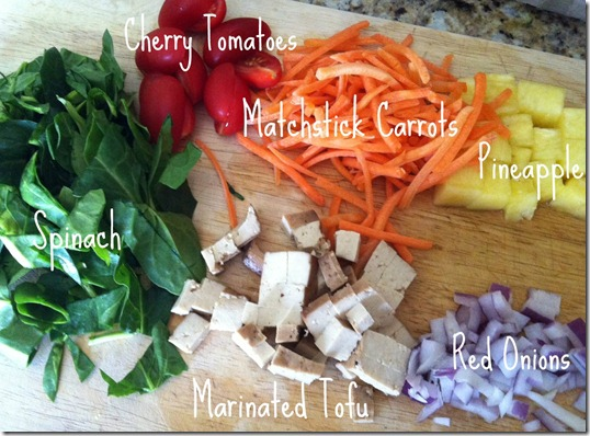 Tofu Scramble Ingredients